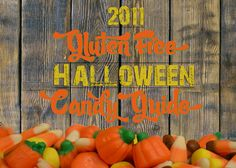 Gluten Free Halloween Candy!  Who KNEW?