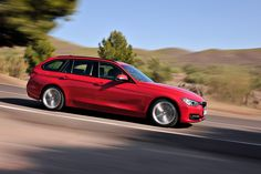 Bmw 3 Touring in Melbourne Red