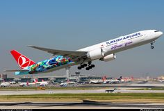 TC-JJU Turkish Airlines Boeing 777-3F2(ER)