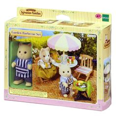 Kerti parti szett Sylvanian Families Family Furniture, Doll Furniture, Plastic Model Kits, Plastic Models, Lego, Sylvanian Families, Toy Chest, Teddy Bear, Dolls
