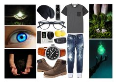 """""""Earth"""" by awkward-goth ❤ liked on Polyvore featuring Billabong, Dsquared2, Heritor, Black, Columbia, Eos and Burberry"""