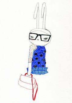 fifi lapin #fifilapin #fashionilustrator