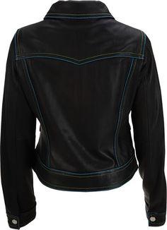 #Womens leather jacket custom made style 1085NL back image  leather jacket  #2dayslook #new leather jacket #jacketfashion  www.2dayslook.com