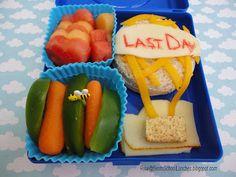 Bento School Lunches: Last Day Of School Balloon Bento 2012 www.facebook.com/BentoSchoolLunches