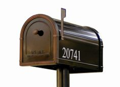Avalon Post Mount Steel Mailbox at Menards