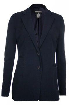 Sutton Studio Women's Deconstructed Jersey Blazer Jacket - Listing price: $149.00 Now: $69.99 + Free Shipping