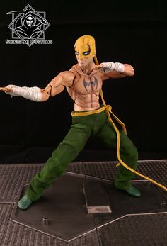 Iron Fist - Immortal Weapon (Avengers) Custom Action Figure
