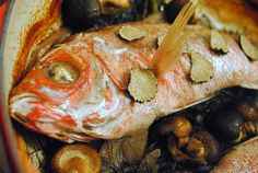 Truffles, whole fish, & Barolo