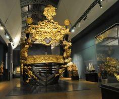 Musée de la Marine de Paris/ La poupe de la Grande Reale (pièces authentiques du…