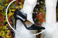 MV F/W 2014/15 #shoes #fashion #heels #design #leather #crocodile