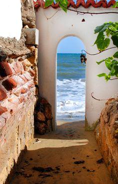 Beach entrance @Horned Dorset Primavera, Puerto Rico | Palmas Del Mar Photography