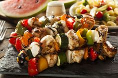 Dinner Recipe: Honey-Marinated Chicken Kebabs  ... Shift+R improves the quality of this image. Shift+A improves the quality of all images on...