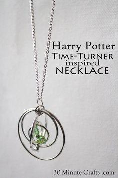 Harry Potter Time Turner Inspired Necklace Tutorial - Rae Gun Ramblings