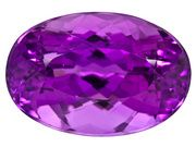 Killer Kunzite, 18 carats, flawless and amazingly intense color.