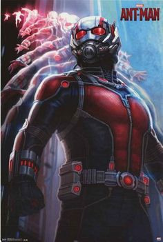 A great portrait poster of Ant-Man from the new Marvel Comics movie! Size DOES…