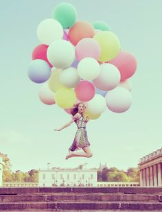 Loving this! I've been wanting to do something with balloons!