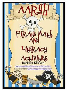 Ahoy mateys!  Have your little ones set sail and have fun learning about pirates as they practice important literacy and math skills.  This activit...