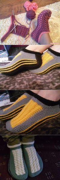 MK tricoter sledochki