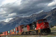 Trans Canadian Railway photo | photo Canadian National Railway, Canadian Pacific Railway, Union Station, Central Station, Jasper Canada, Via Rail, British Columbia, Ontario, Vancouver