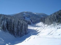Snowy Bansko in Bulgaria Ski And Snowboard, Snowboarding, Skiing, Great Places, Places Ive Been, Beautiful Places, Bansko Bulgaria, Night Life, Natural Beauty