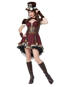 Steampunk Adult Womens Costume