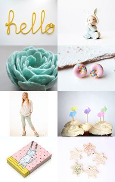 Pastel gifts by Brigita Rugelis on Etsy--Pinned with TreasuryPin.com