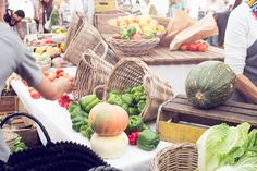"""I love Farmers Markets! This one is the """"Oranjezicht City Farm"""" in Cape Town 