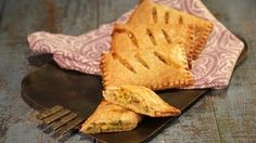 Succotash Handpies | The Chew -   Note: Could add chopped ham or chicken for a well-rounded snack.