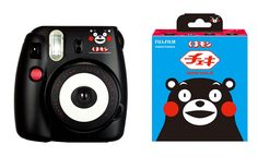 Instax Mini 8 Kumamon, analog camera using instant films to produce prints, this cute camera automatically can determined a light brightness for taking a picture. With Kumamon Japan's most popular bear, the character created in 2010 for a campaign called Kumamoto Surprise to draw tourists to the region after the Kyushu Shinkansen line opened. http://www.zocko.com/z/JJHZZ