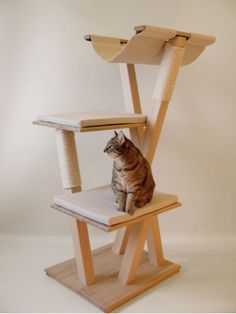 arbre chat on pinterest cat trees cat towers and animaux. Black Bedroom Furniture Sets. Home Design Ideas