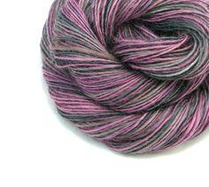 Wensleydale  Worsted Weight Yarn Handspun Yarn by TheSavvyStitch