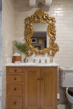 What a gorgeous mirror.  Tommy & Todd's Bohemian Chic Collection #mirror #interior #bathroom #styling