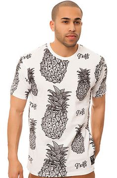 The Pineapple Bahama Tee in White by NEFF use rep code: OLIVE for 20% off!