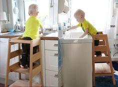 """Lernturm inspiriert durch Montessori von """"Das bewegte Kind.de"""""""