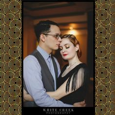 Old Hollywood Glamour inspired Engagement Session by White Creek Photography   #engagement #hollywoodglamour #glamour #vintage #cinematic #1920s #1930s #artdeco #fashion #photography #portraits