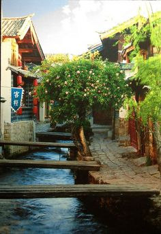 Old Town of Lijiang, China   postcrossing.com