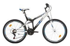 Terrano MARLIN Dual Suspension Mountain Bike, 26 inch wheels 18 sp. Shimano…