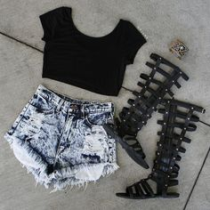 Nasty Gal love love love !! summer outfit !