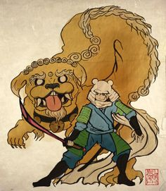 Adventure Time with jake the demon dragon dog and fin the warrior child