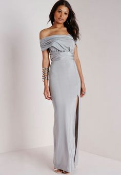 Multi way tie maxi dress