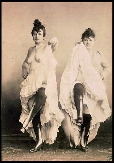 La Goulue & La Mome Fromage - Can Can Dancers at the Moulin Rouge