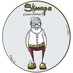 Skoonpa (Father-in-Law) - Cute Illustrations of Directly Translated Afrikaans Words by RobynO (Me) BoredPanda Illustrated Words, Fat Women, Afrikaans, Cute Illustration, Inspire Me, Law, Father, Illustrations, Feelings