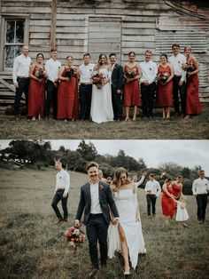 Take a look at Bryce + Brittany by Nikki Deles here! Maxi Dress Wedding, Wedding Attire, Deep Navy Suit, Bridesmaid Dresses Australia, Australian Beach, Before Marriage, Jumpsuit Dress, Wedding Signs, Brittany