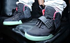 Nike Air Yeezy 2 Black Solar Red « GLOBAL 14 --  These are niice!!