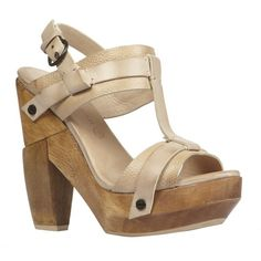 d1b325d7281 Rosalina Heel (€110) ❤ liked on Polyvore featuring shoes, sandals, sapatos