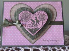 stampin up valentine's day card | valentine's day