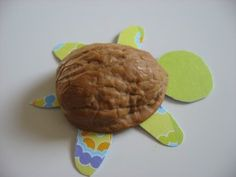 Walnut Shell Turtles from No Time for Flash Cards