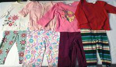Infant Girls Clothing Lot Size 18-24 Months Baby Gap Disney Spring