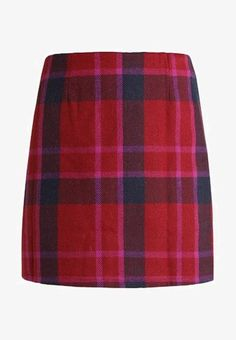 Lost Ink CHECK SKIRT - A-Linien-Rock - purple - Zalando.at School Outfits, Lost, Ink, Purple, Check, Skirts, Clothes, Fashion, Simple Lines
