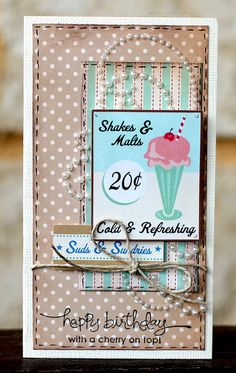 card - with a cherry on top :-)